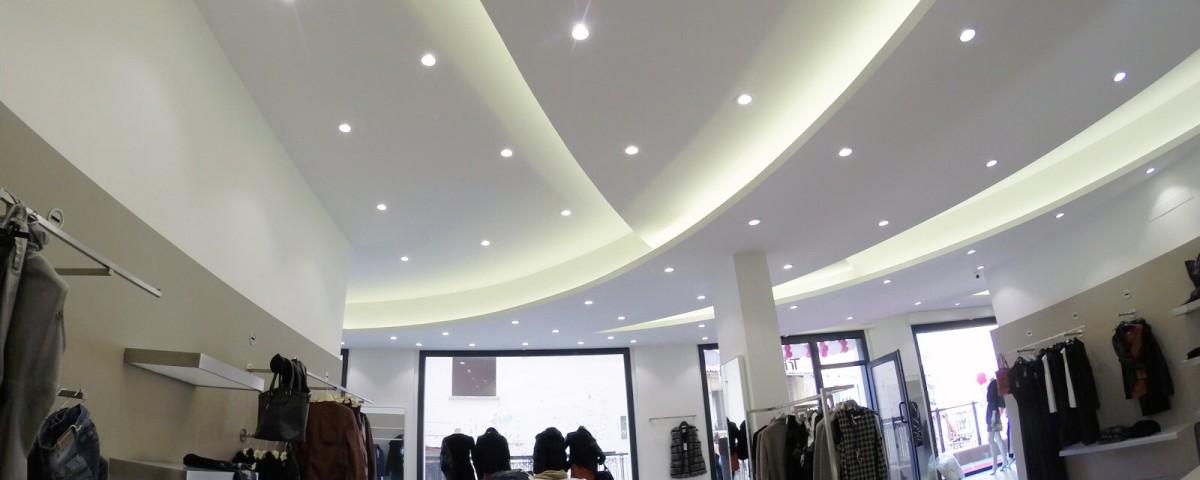 illuminazione commerciale rivoli