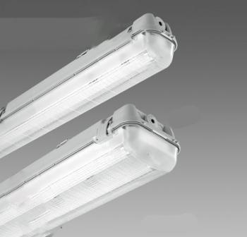 plafoniera stagna led 120 150 cm crea luce led lighting. Black Bedroom Furniture Sets. Home Design Ideas